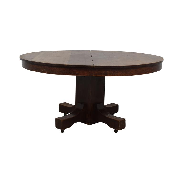 Expandable Oak Table nyc