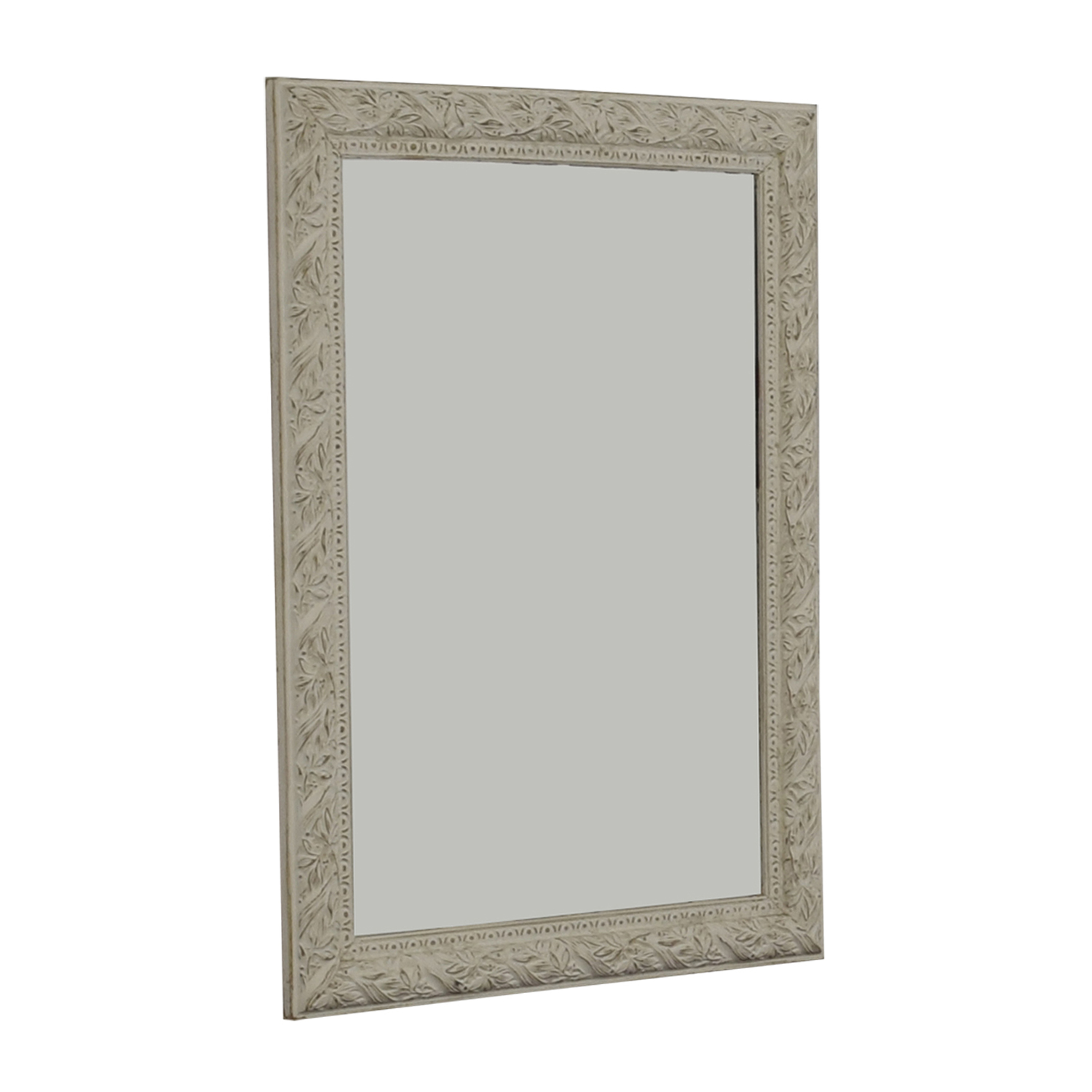 shop  Distressed White Antique Shabby Chic Mirror online