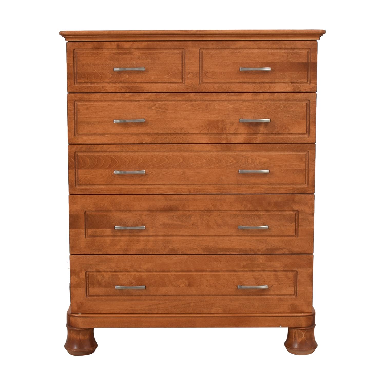 shop Furniture Masters Furniture Masters Five Drawer Dresser online