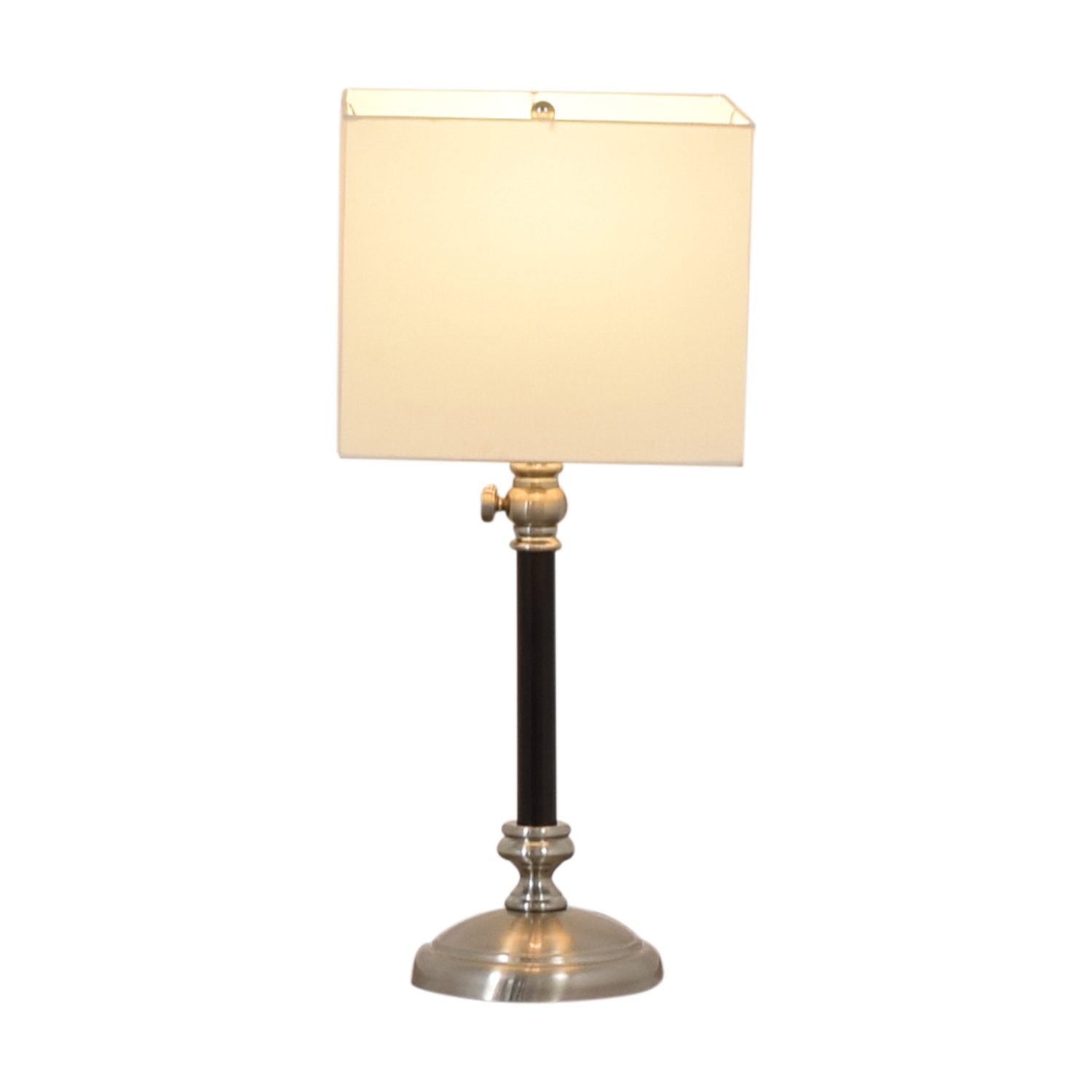 Black Table Accent Lamp second hand