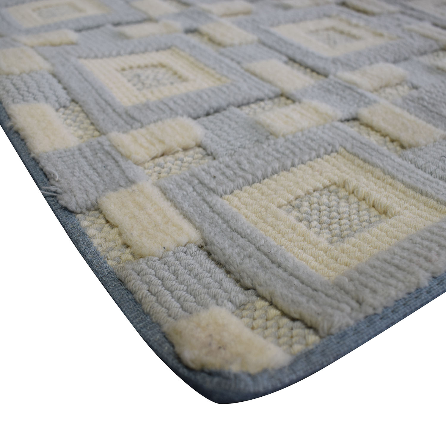 buy Gray and White 9x12 Natural Fiber Rug  Decor