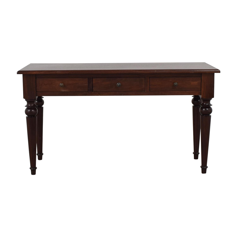 Three-Drawer Wood Desk price