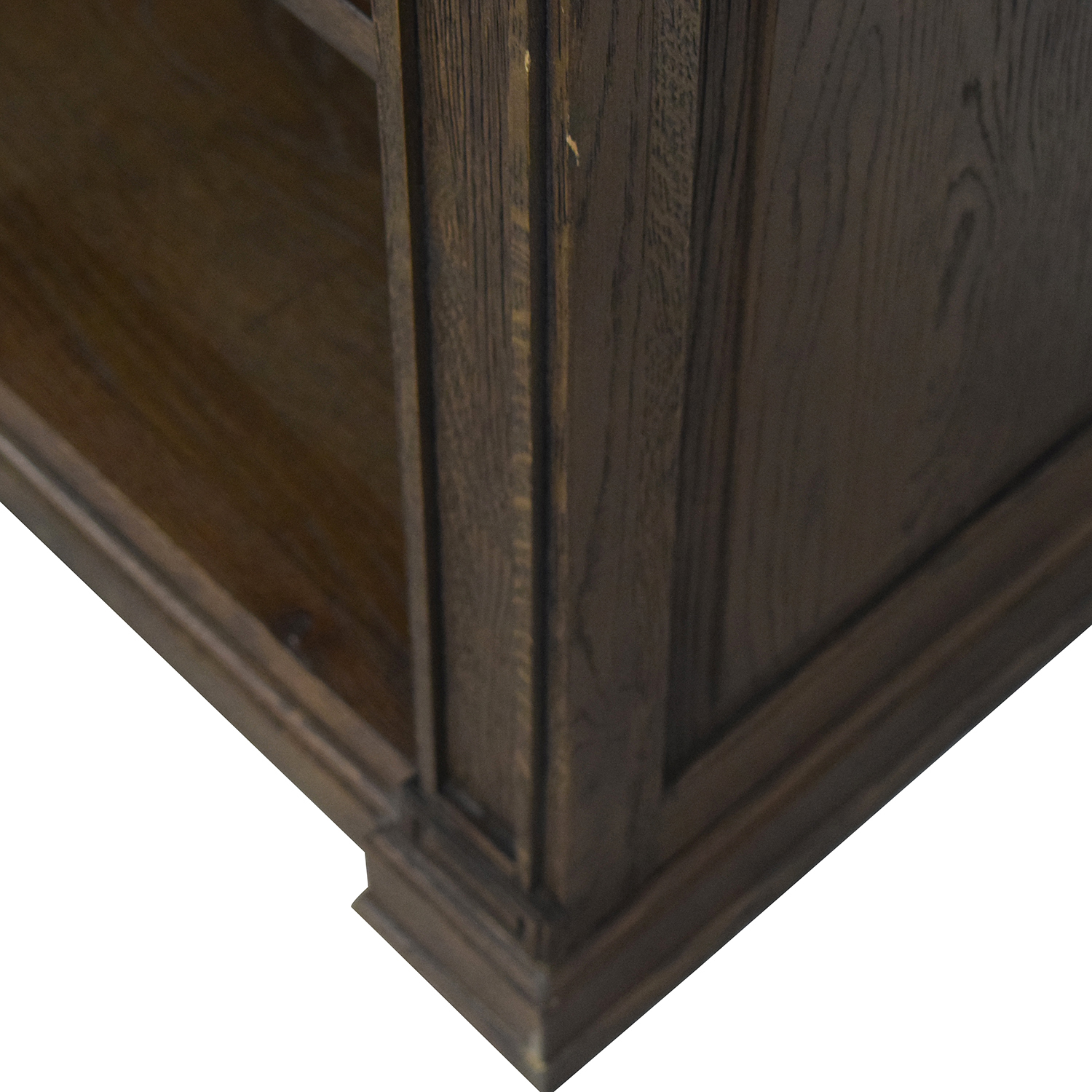 Restoration Hardware Restoration Hardware Wood Library Bookcase with Desk used