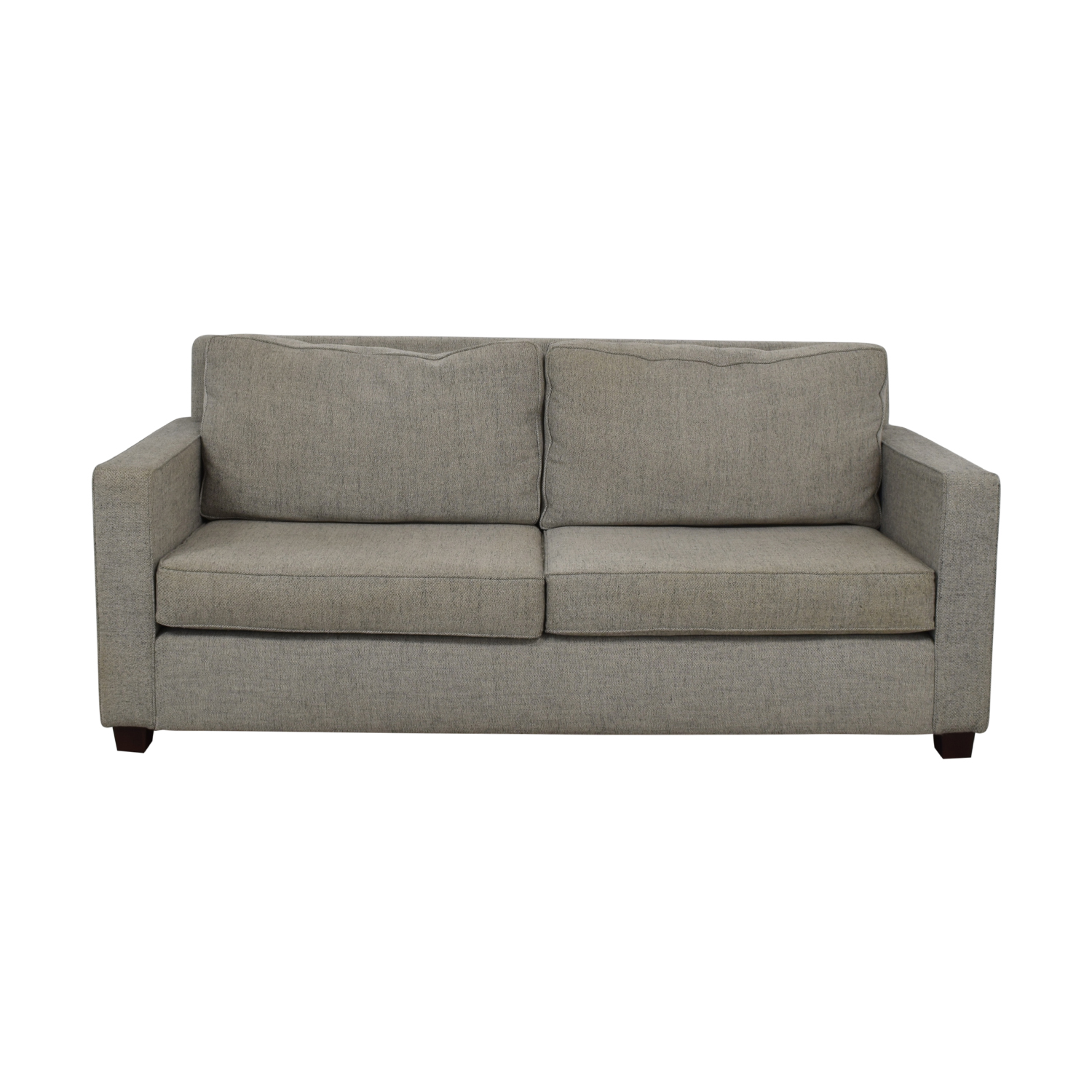 West Elm West Elm Henry Gray Two-Cushion Sofa coupon