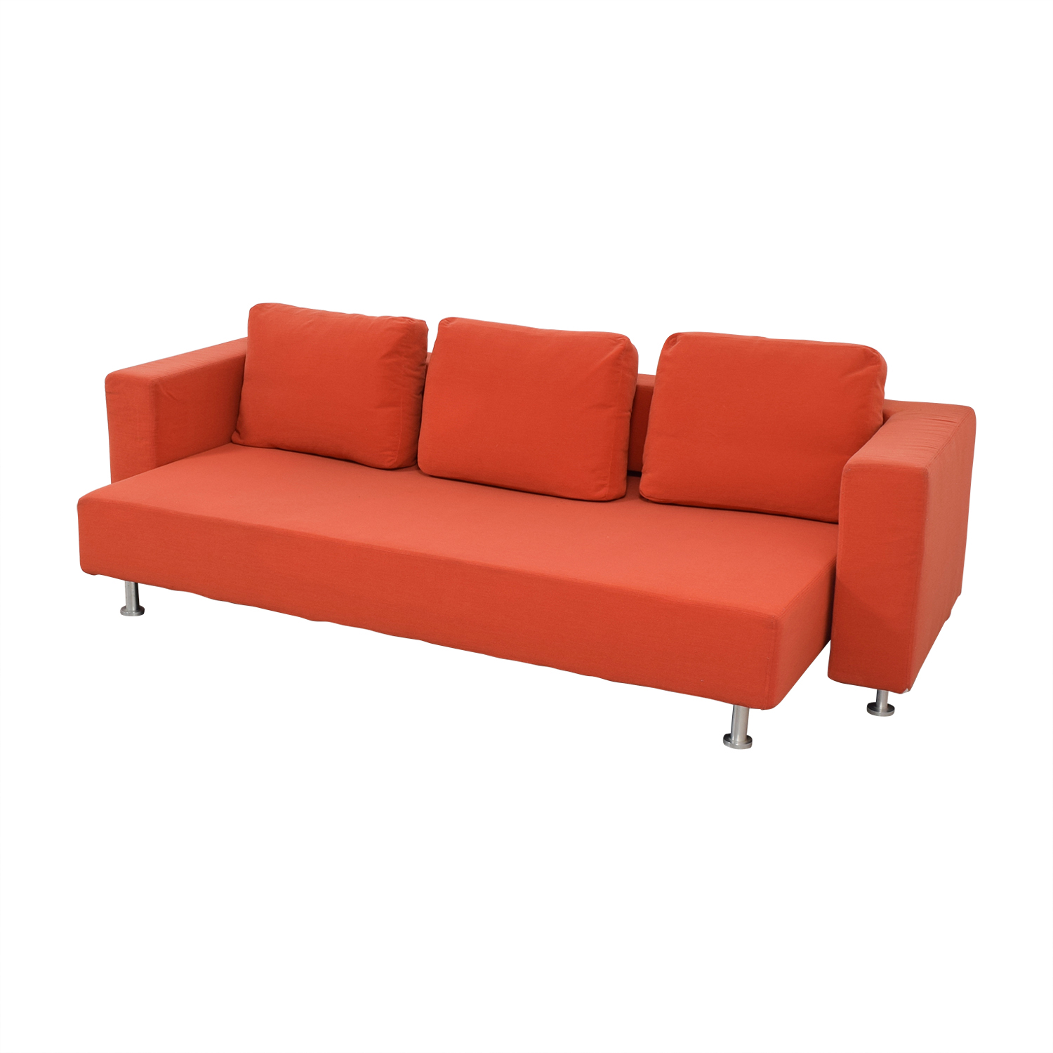 Ligne Roset Ligne Roset Orange Sleeper Sofa orange