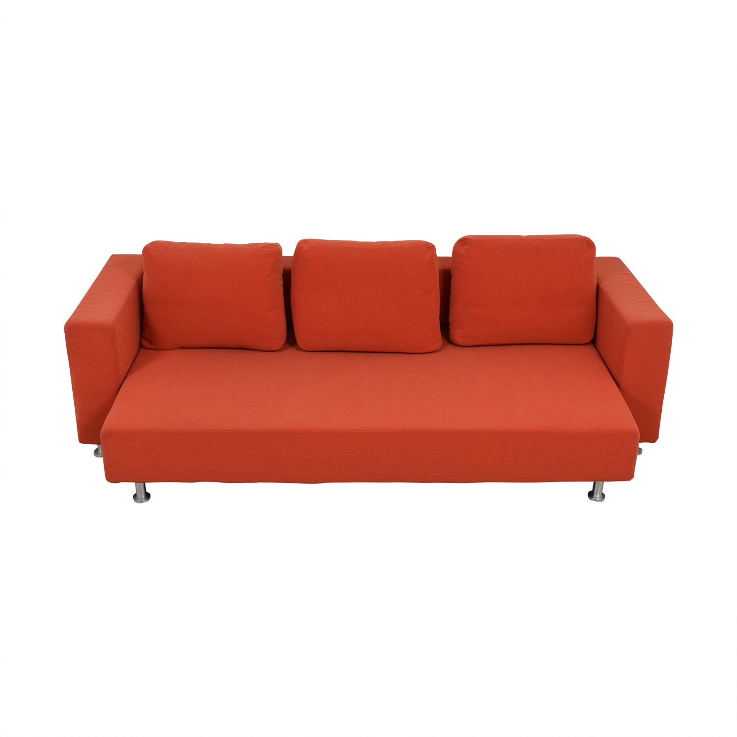 Ligne Roset Ligne Roset Orange Sleeper Sofa dimensions