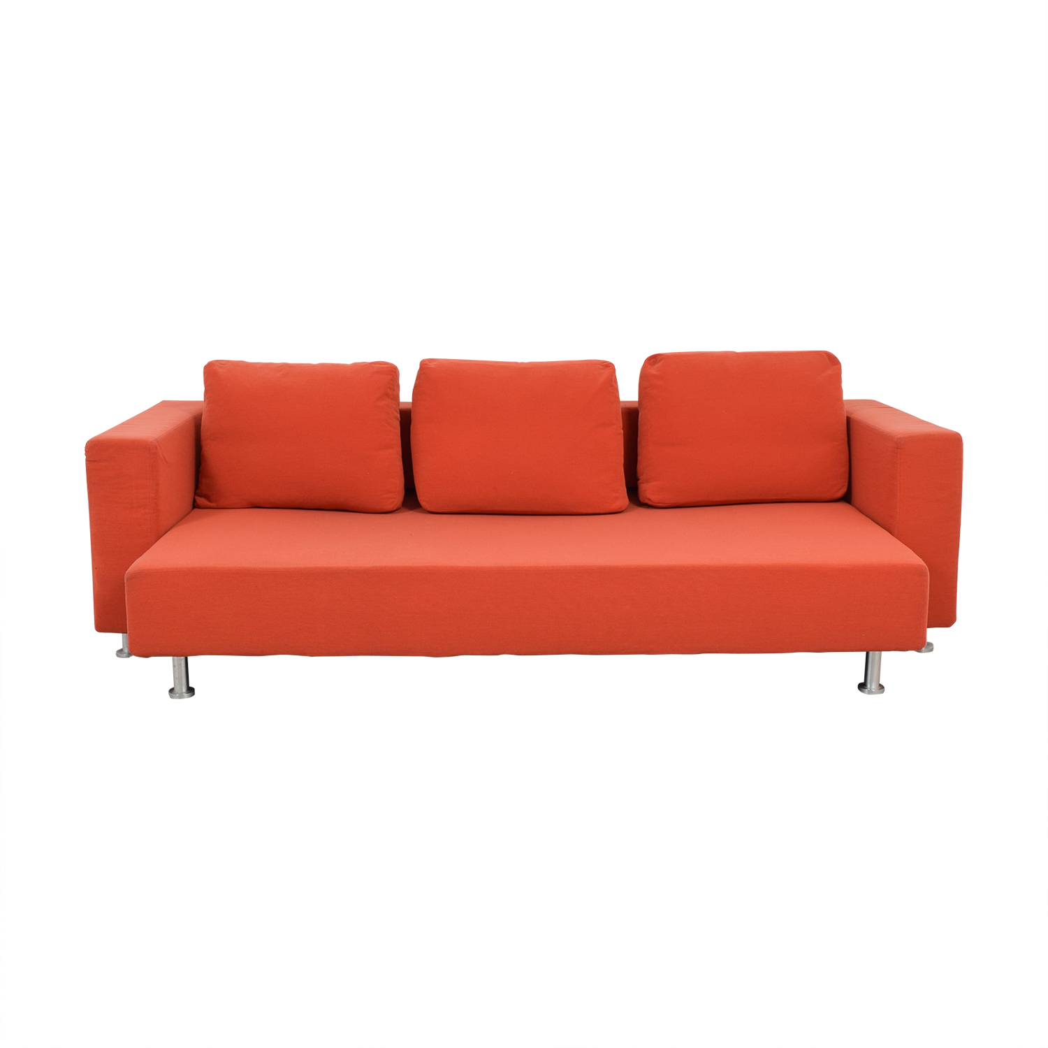 Ligne Roset Ligne Roset Orange Sleeper Sofa used