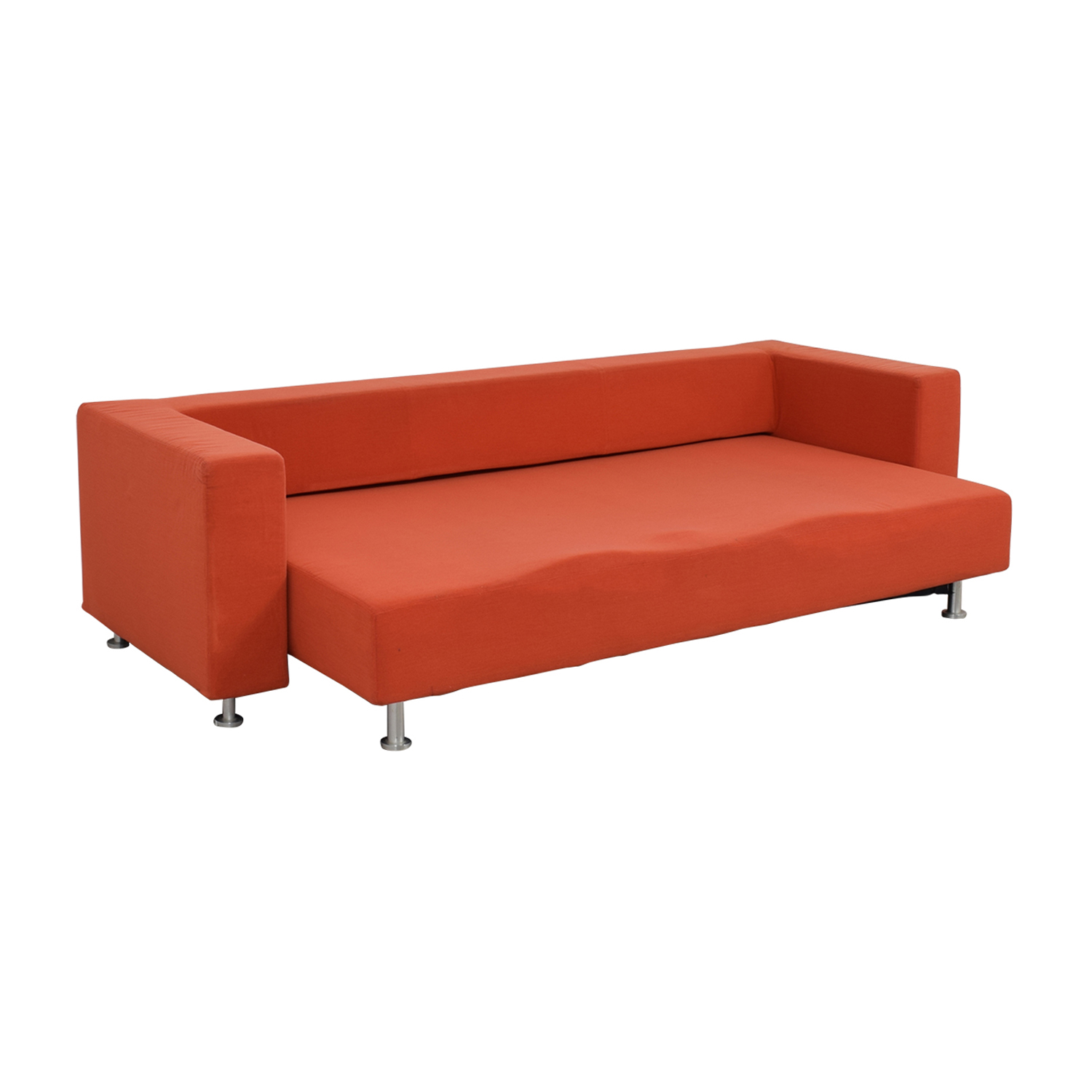 Ligne Roset Ligne Roset Orange Sleeper Sofa for sale