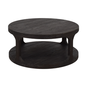 Restoration Hardware Restoration Hardware Martens Round Coffee Table on sale