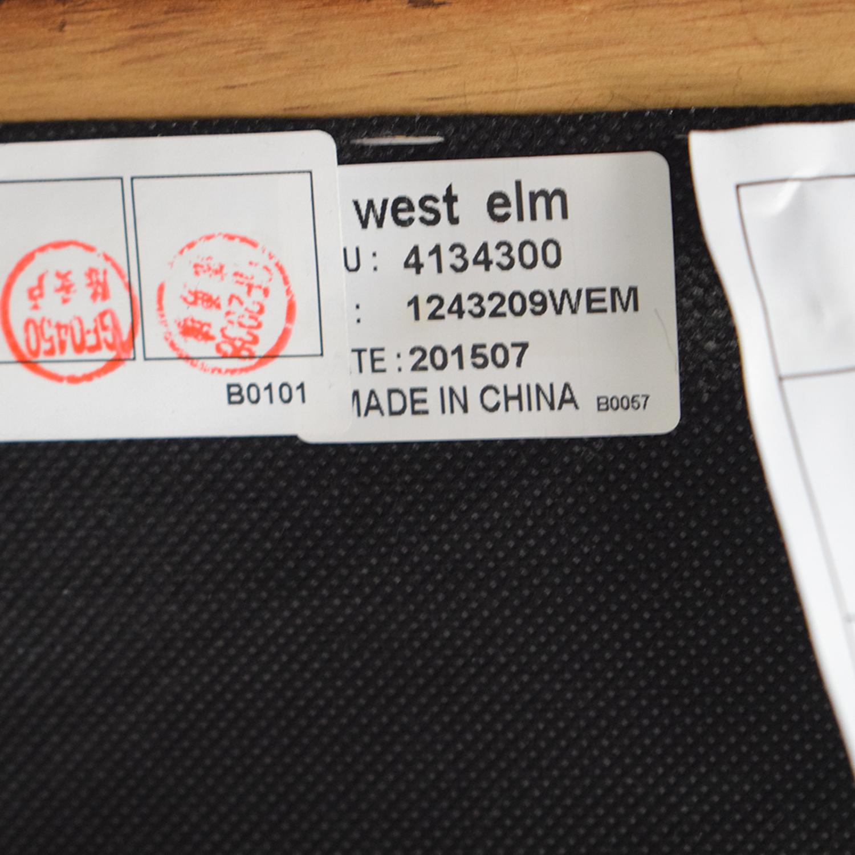 West Elm West Elm Dekalb Cognac Right Arm Chaise on sale