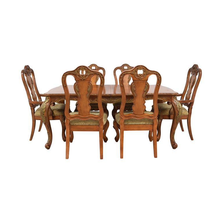 buy Raymour & Flanigan Extendable Wood Dining Set Raymour & Flanigan