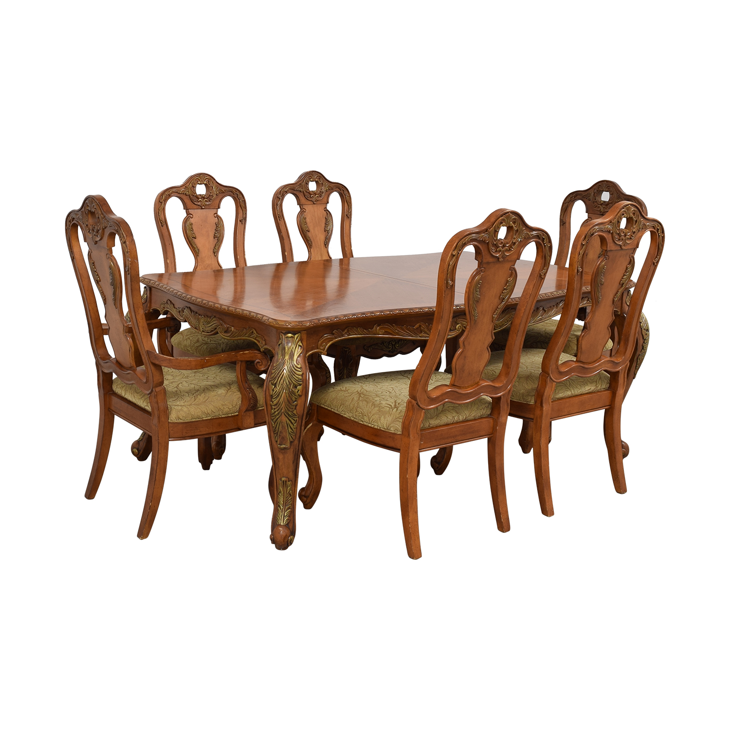 buy Raymour & Flanigan Raymour & Flanigan Extendable Wood Dining Set online