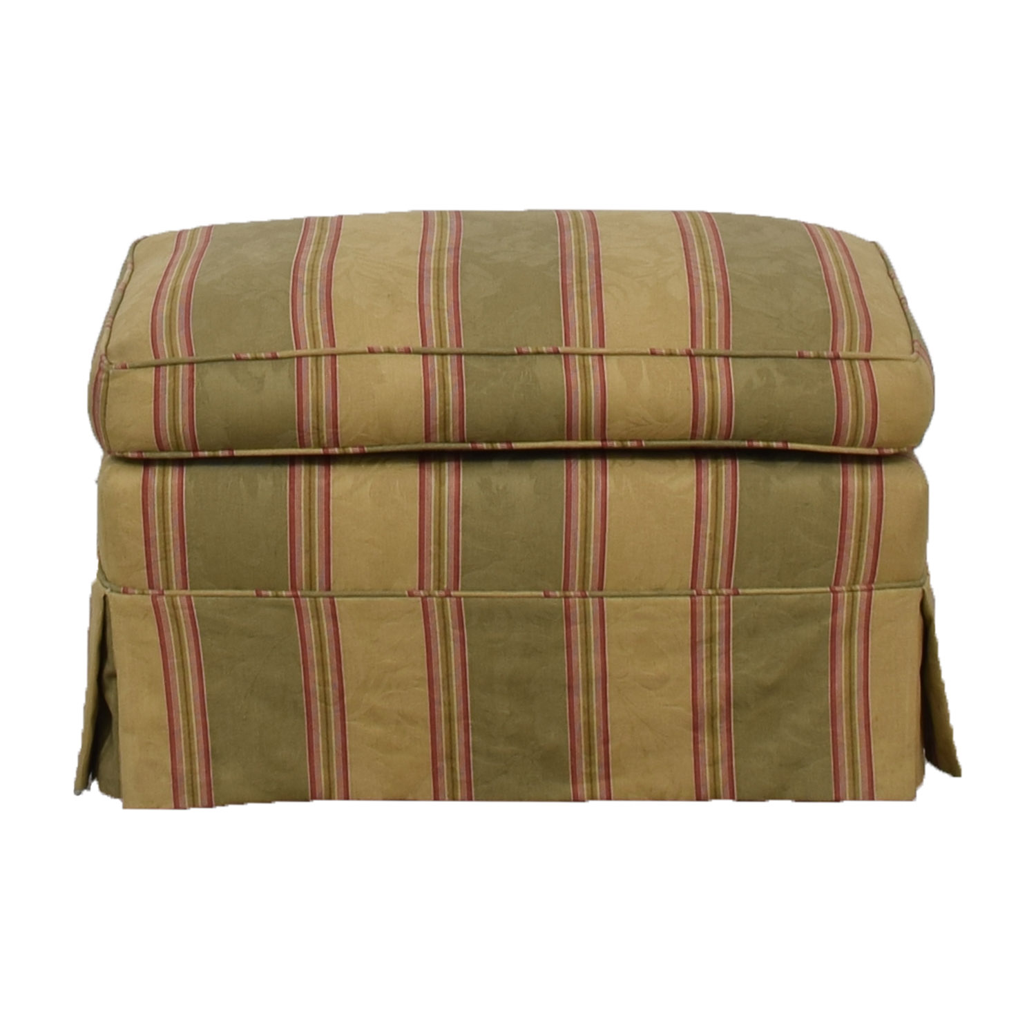 buy  Multi-Colored Stripped Ottoman online