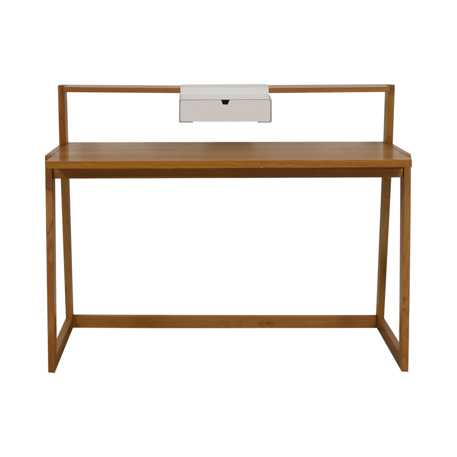 CB2 CB2 Wood Desk beige