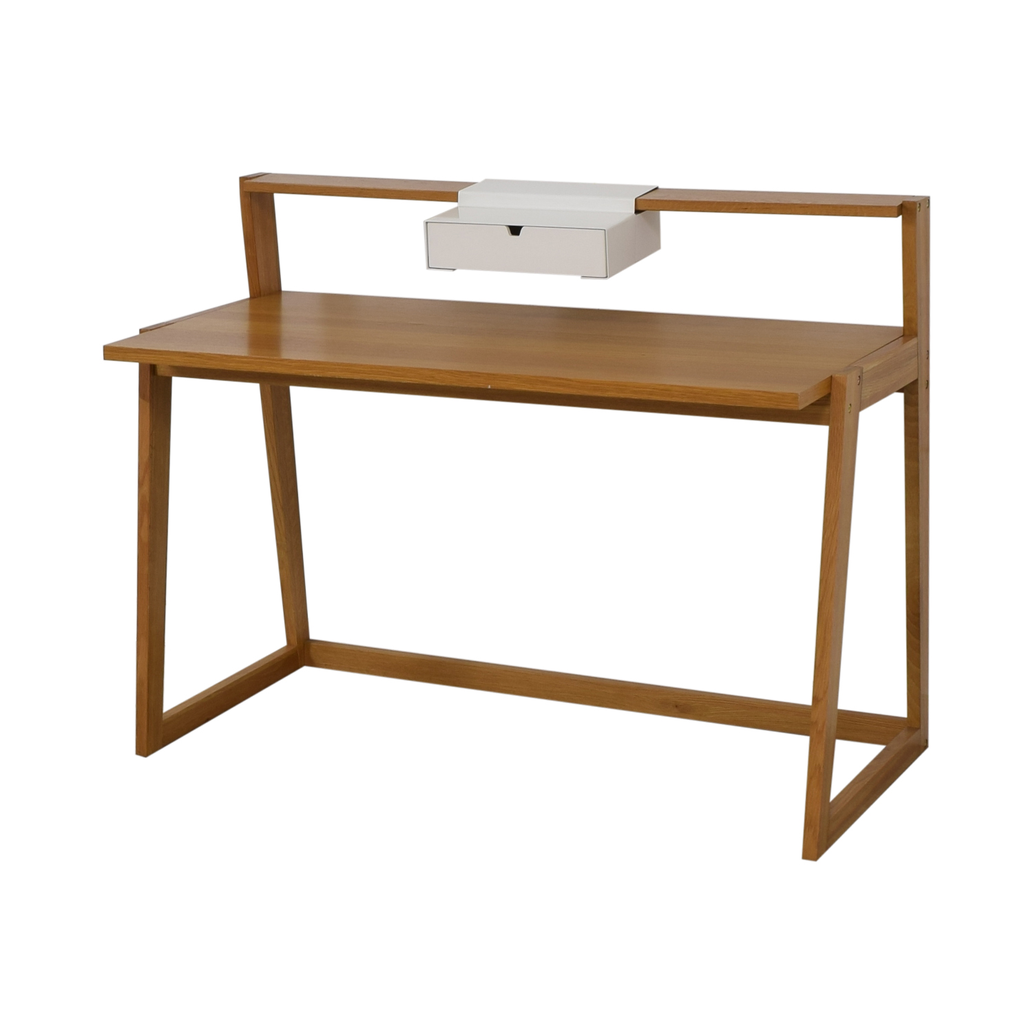 shop CB2 Wood Desk CB2 Tables