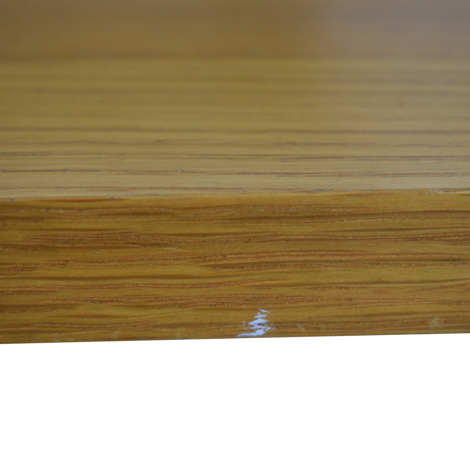 CB2 Wood Desk sale