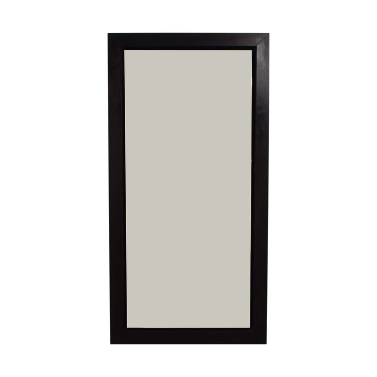 buy BDI Wood Framed Floor Mirror BDI