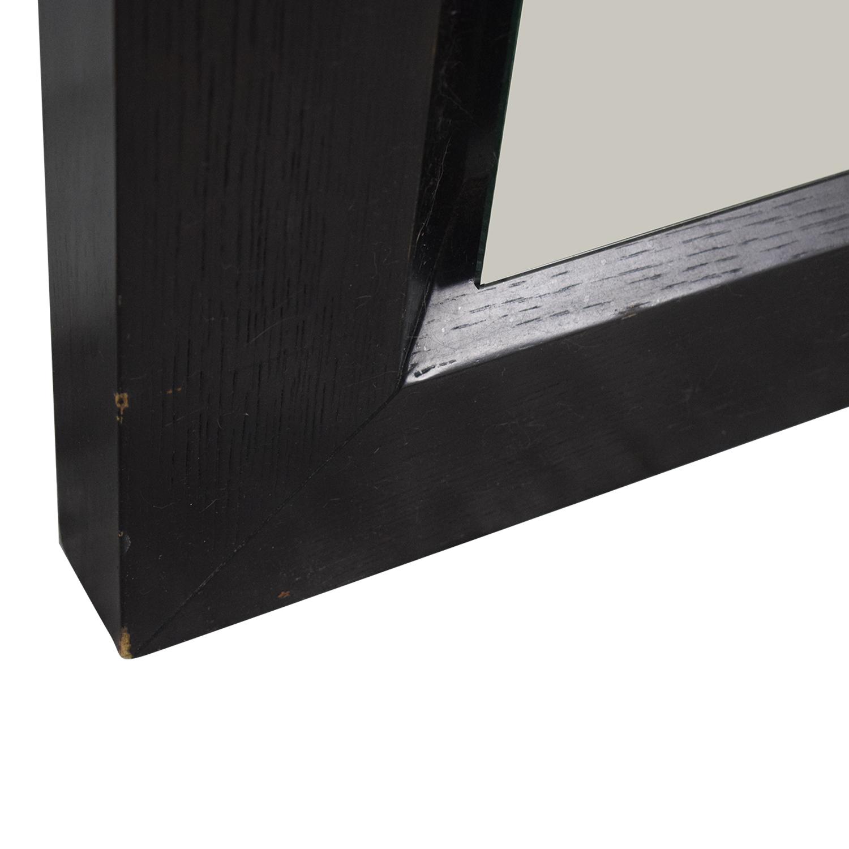 buy BDI Wood Framed Floor Mirror BDI Decor