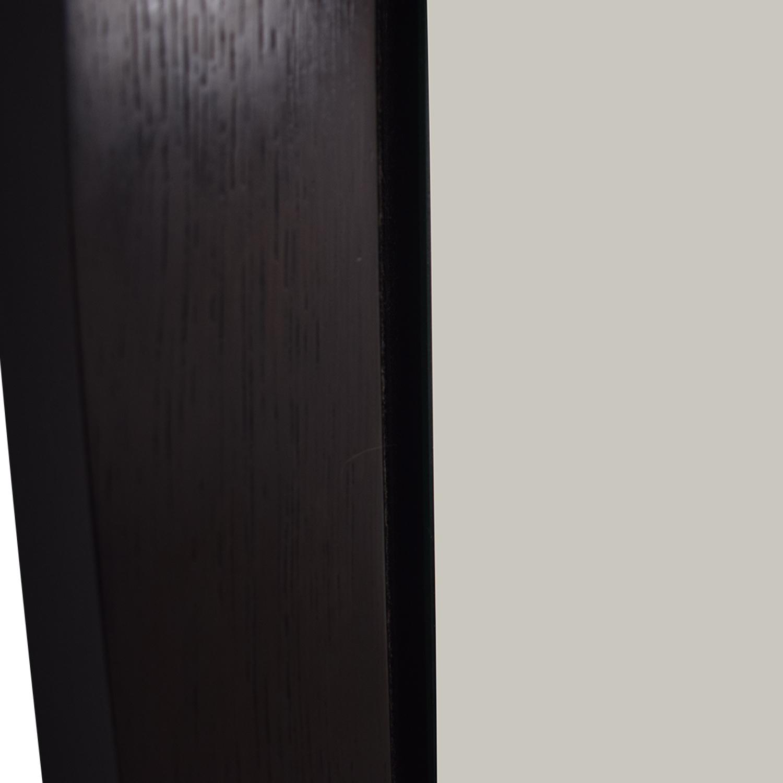 shop BDI Wood Framed Floor Mirror BDI Mirrors