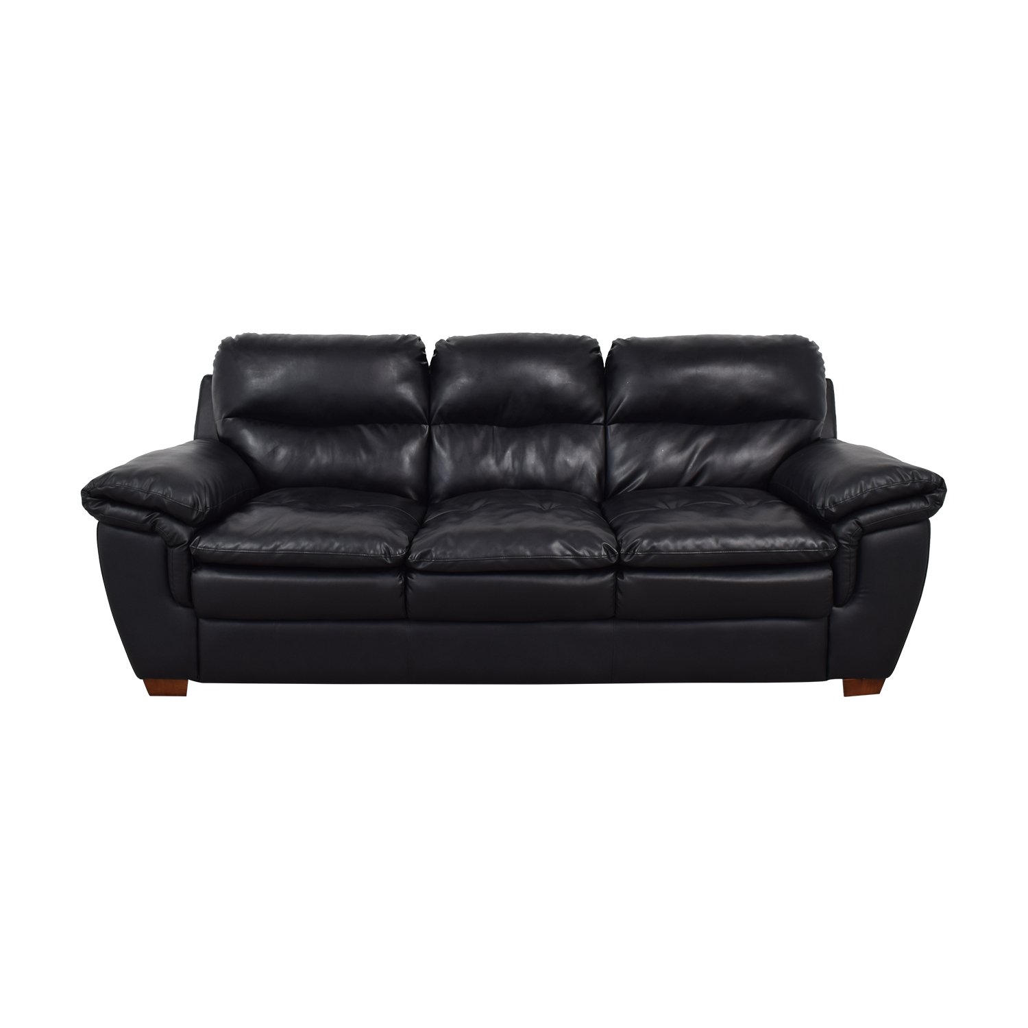40 off ashley furniture ashley furniture three cushion brown