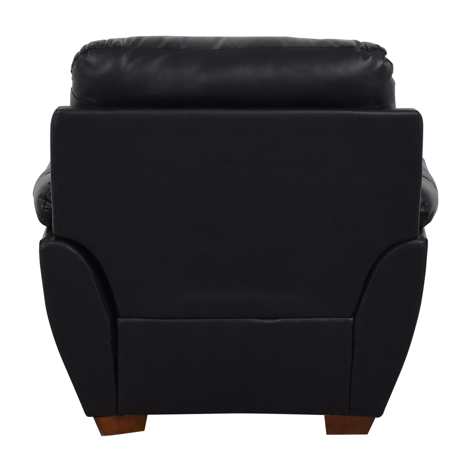 Jennifer Furniture Jennifer Furniture Wilton Black Accent Chair dimensions