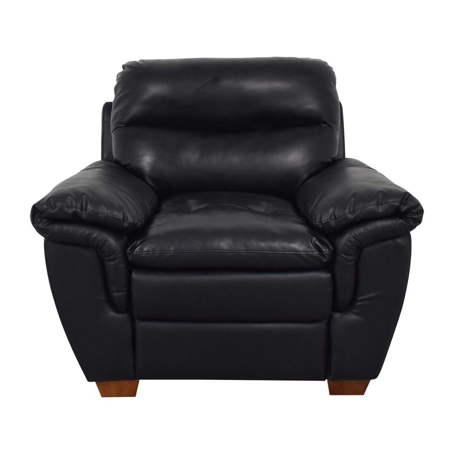 shop Jennifer Furniture Wilton Black Accent Chair Jennifer Furniture Chairs