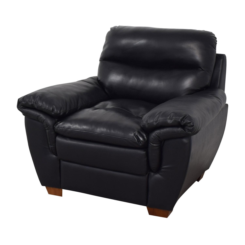 buy Jennifer Furniture Wilton Black Accent Chair Jennifer Furniture Chairs