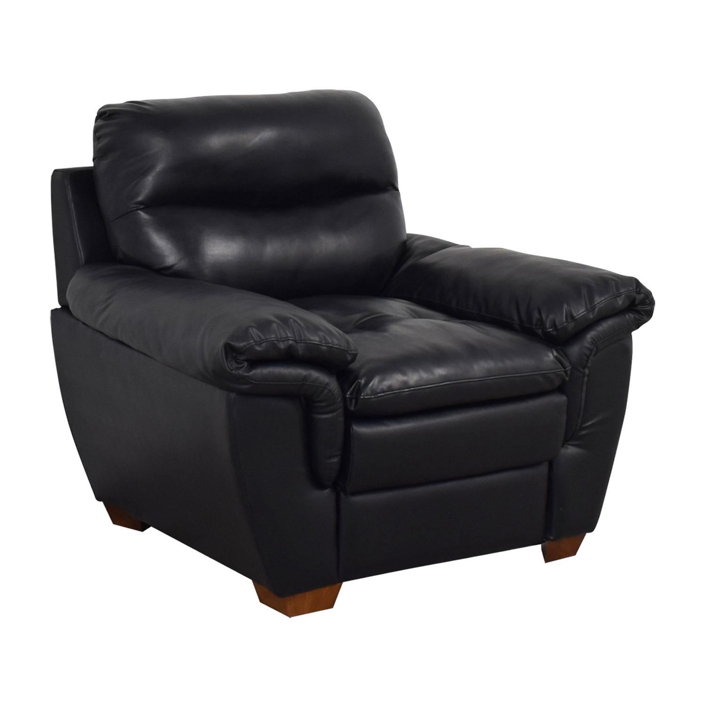 Jennifer Furniture Jennifer Furniture Wilton Black Accent Chair coupon
