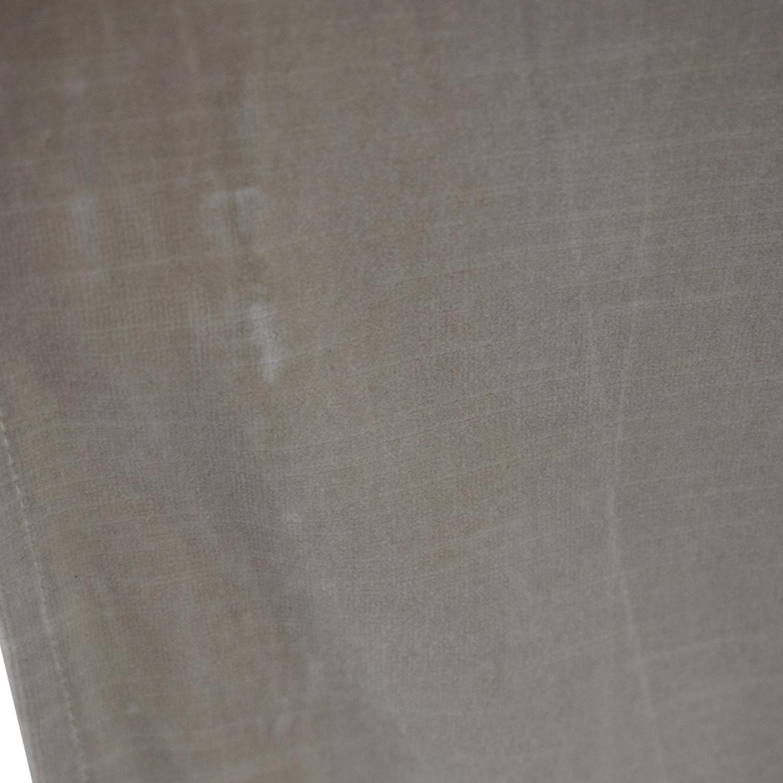 Restoration Hardware Restoration Hardware Gray English Roll Arm Sofa dimensions