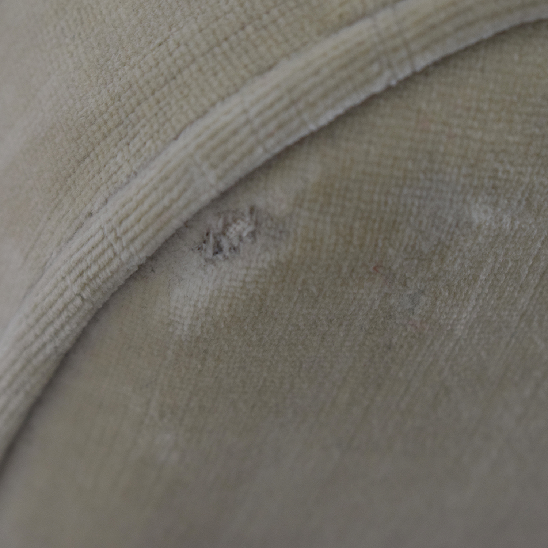 Restoration Hardware Restoration Hardware Gray English Roll Arm Sofa nyc