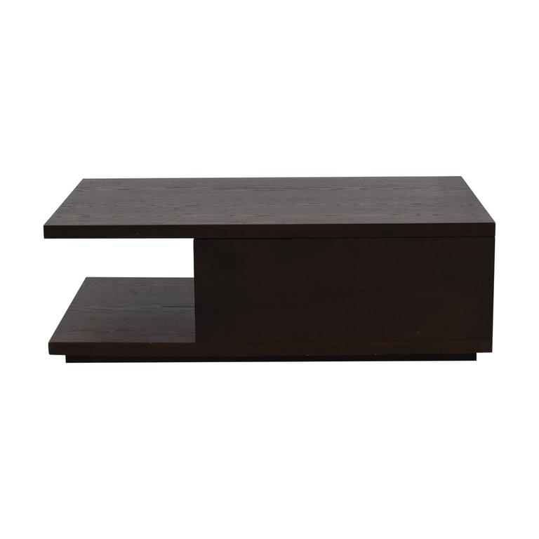 buy West Elm West Elm Wood Storage Coffee Table online