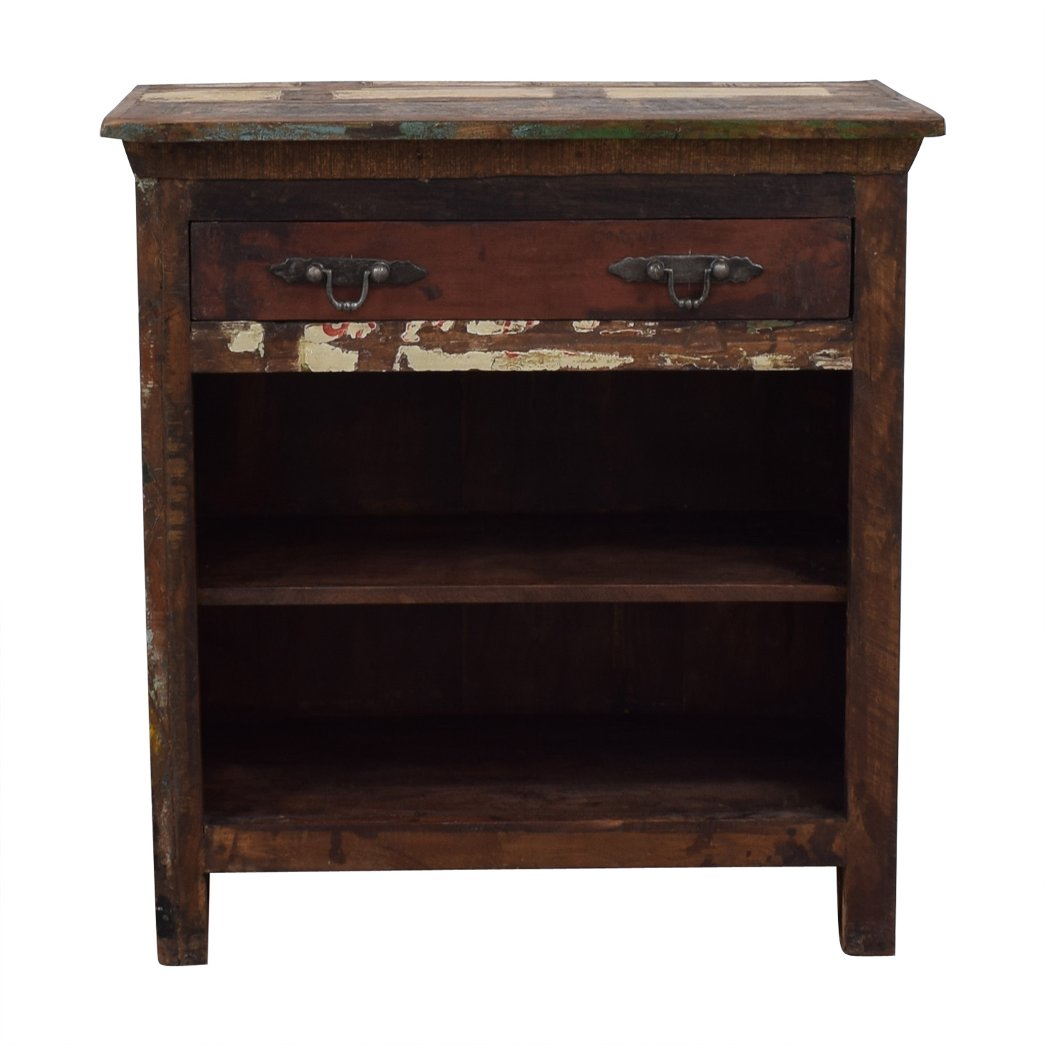 shop Rustic Single Drawer Accent Table