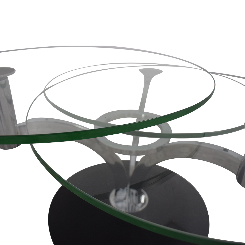 Naos Naos Trillo Glass Coffee Table nj