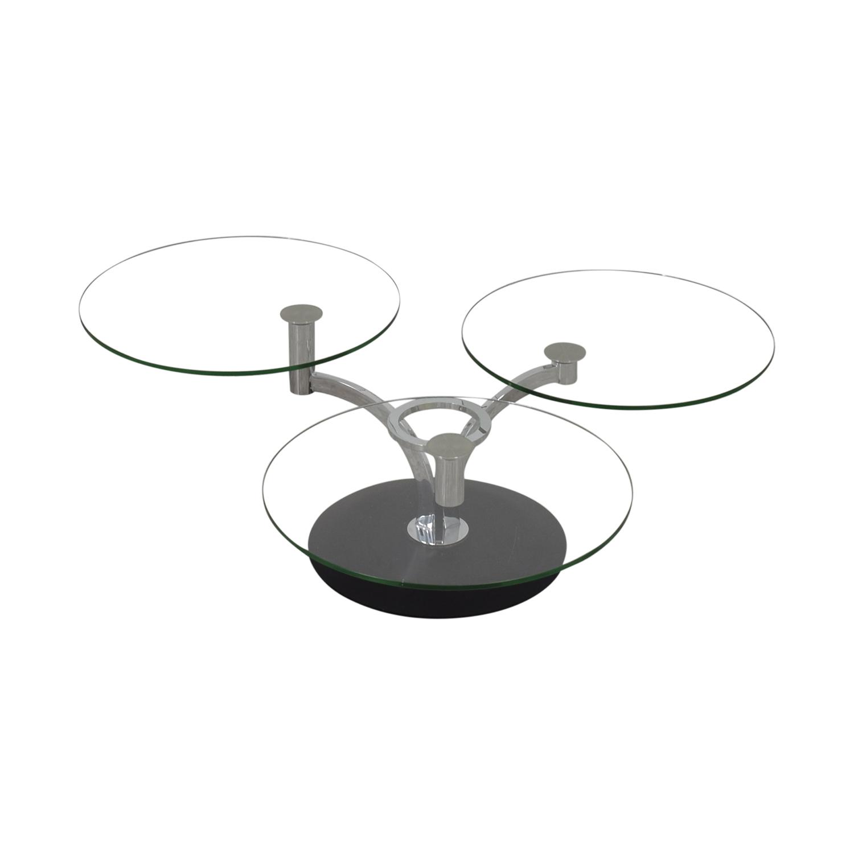 Naos Naos Trillo Glass Coffee Table for sale