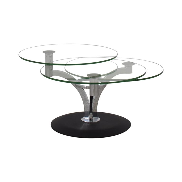Naos Naos Trillo Glass Coffee Table Tables