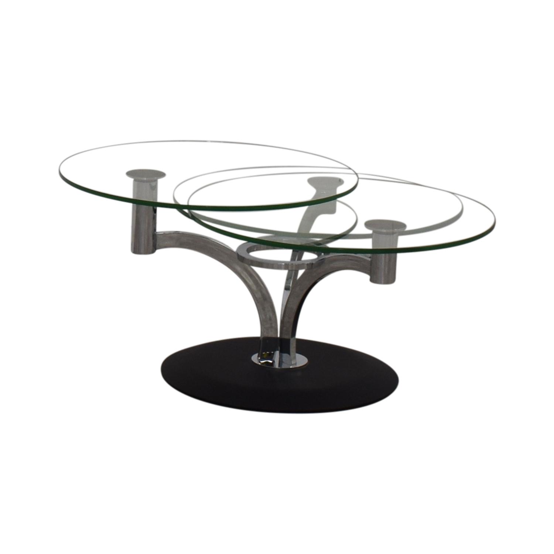 Naos Naos Trillo Glass Coffee Table discount