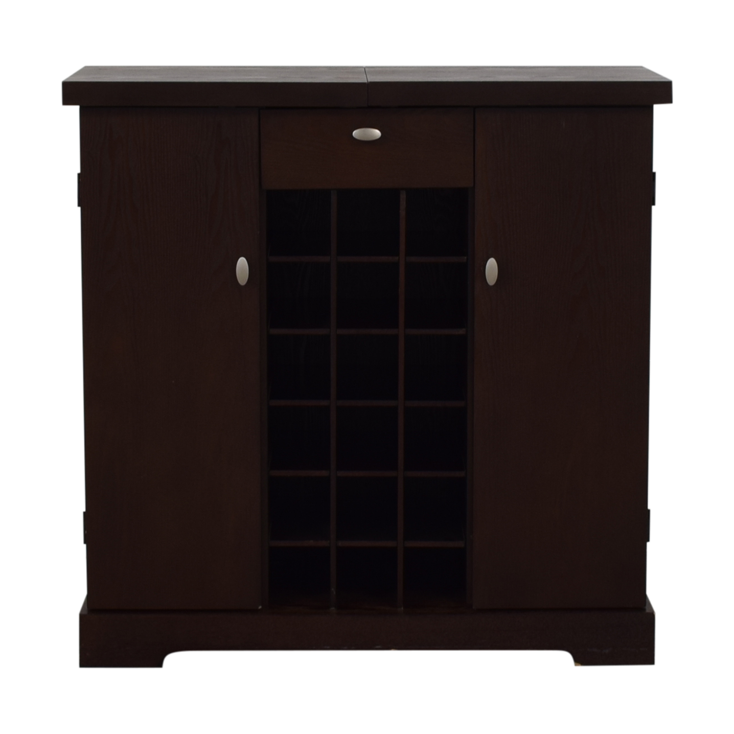 Crate & Barrel Crate & Barrel Bar Cabinet brown