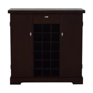 Crate & Barrel Crate & Barrel Bar Cabinet dimensions