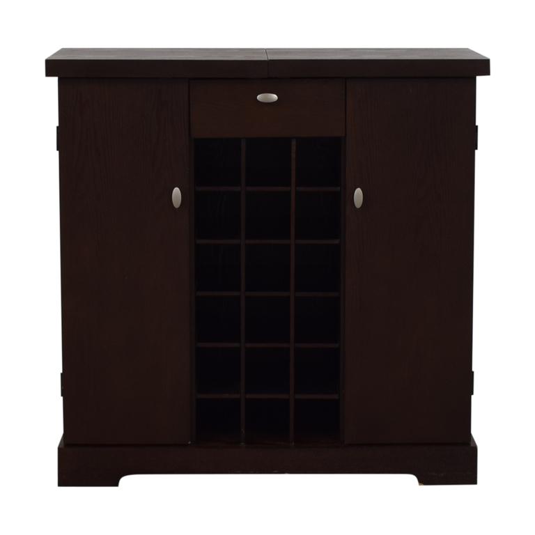 Crate & Barrel Crate & Barrel Bar Cabinet on sale