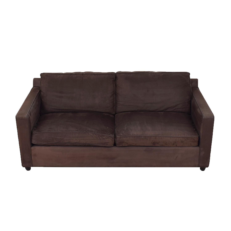 Crate & Barrel Two Seat Sofa / Classic Sofas