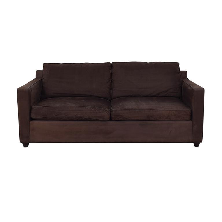 Crate & Barrel Crate & Barrel Two Seat Sofa dimensions