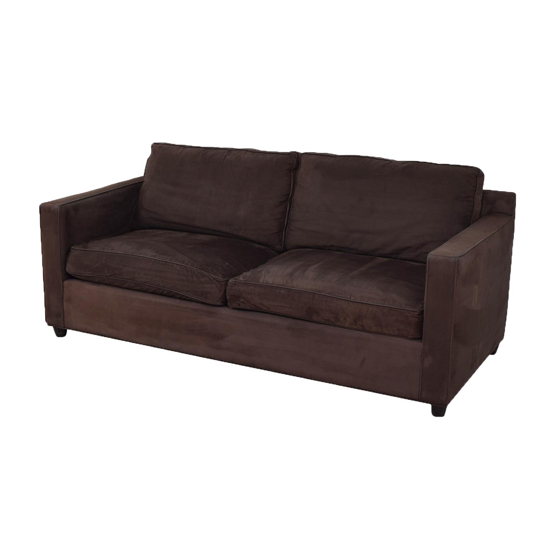 buy Crate & Barrel Two Seat Sofa Crate & Barrel