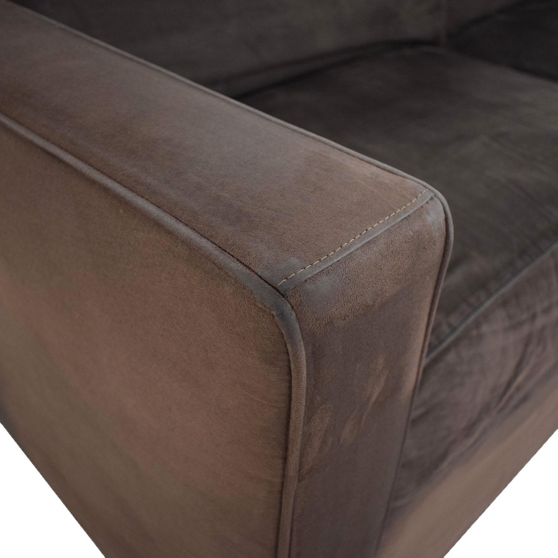 Crate & Barrel Two Seat Sofa / Sofas