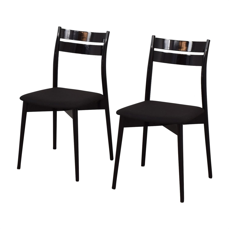 Calligaris Calligaris Black Dining Chairs