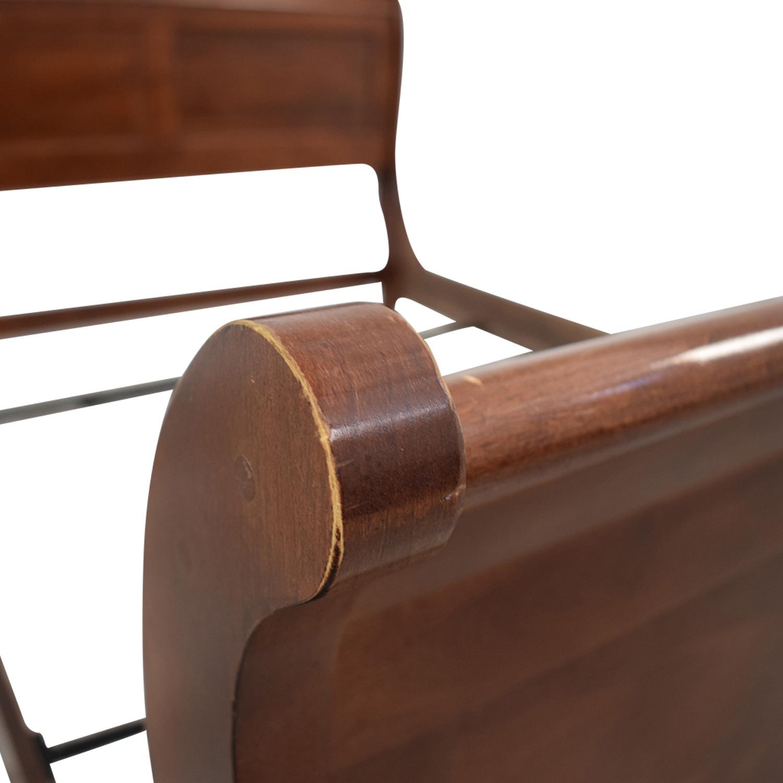 Kincaid Kincaid Wood Sleigh Queen Bed Frame dimensions