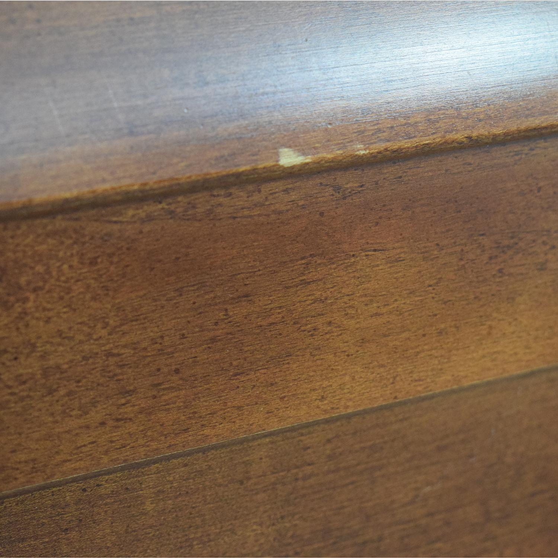 Kincaid Furniture Kincaid Wood Sleigh Queen Bed Frame nyc