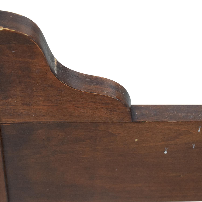 Kincaid Kincaid Wood Sleigh Queen Bed Frame nyc