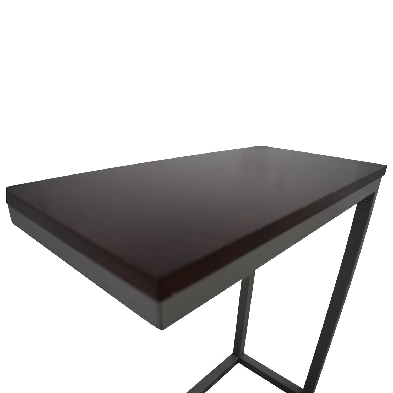 67 Off West Elm West Elm C Shaped End Table Tables