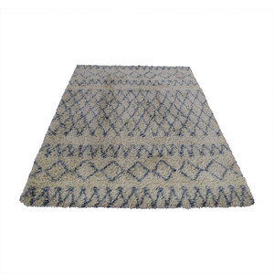 Surya Surya Moroccan Beber Blue and Beige Shag Rug discount