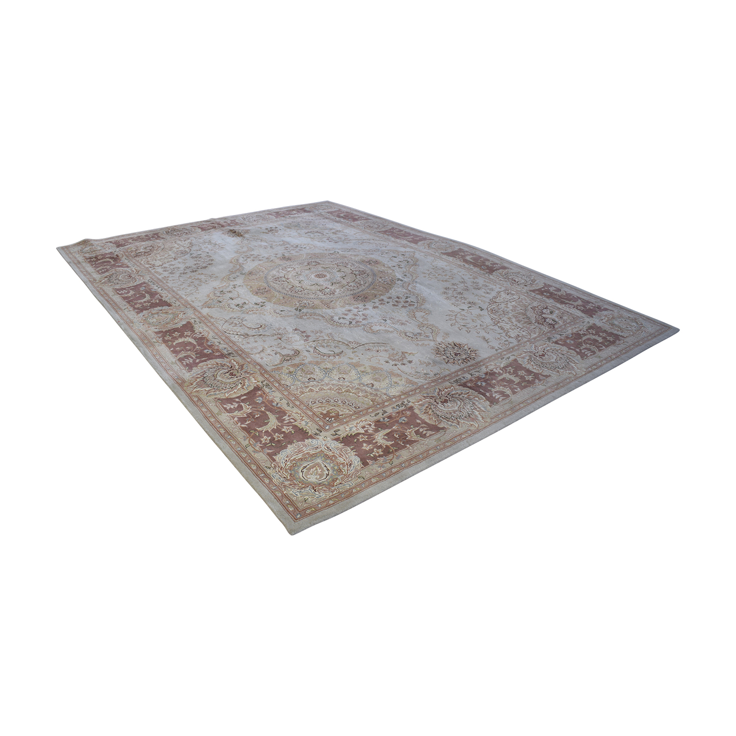 buy Horchow Nourison 2000 Natural Wool Rug Horchow